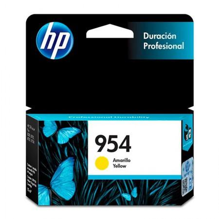 Cartucho HP Original (954) L0S56AB - amarelo rendimento 700 páginas