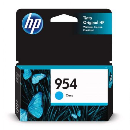 Cartucho HP Original (954) L0S50AB - ciano rendimento 700 páginas