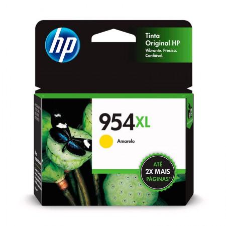 Cartucho HP Original (954XL) L0S68AB - amarelo rendimento 1.600 páginas