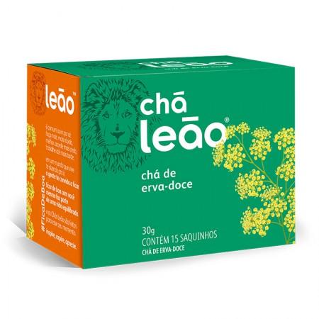 Chá de erva doce - com 15 unidades - Leão Fuze