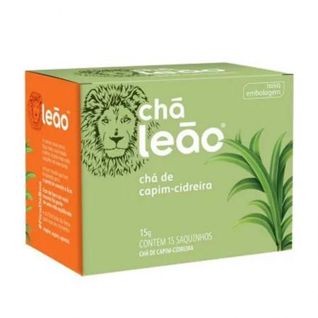 Chá de capim cidreira - com 15 unidades - Leão Fuze