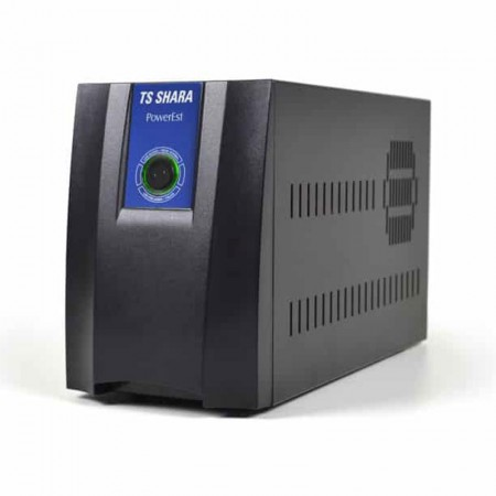 Estabilizador bivolt 1500VA preto - Powerest 9009 - Ts Shara