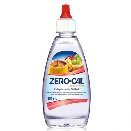 Adoçante líquido 100ml - Zero Cal