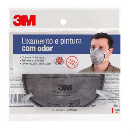 Máscara para pintura - 8713 - com odor - 3M (C.A. 448)