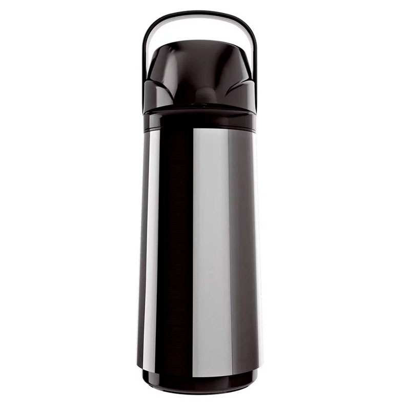 Garrafa térmica de pressão Airport Inox 1,0 litros - Invicta