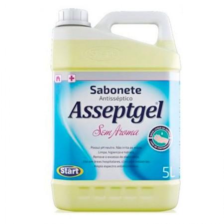Sabonete líquido Asseptgel Sem Aroma 5L Start Química