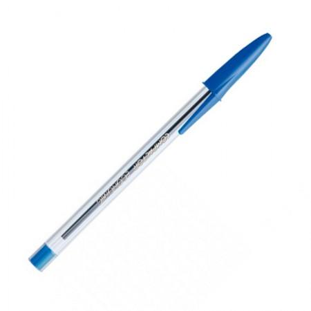 Caneta esferográfica economimc azul - Compactor
