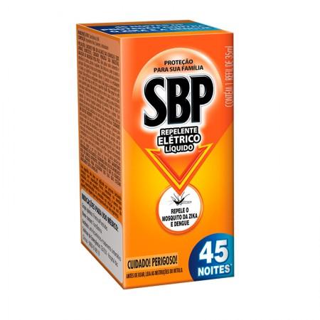 Inseticida SBP elétrico líquido 45 noites - refil 35ml - Reckitt Benckiser