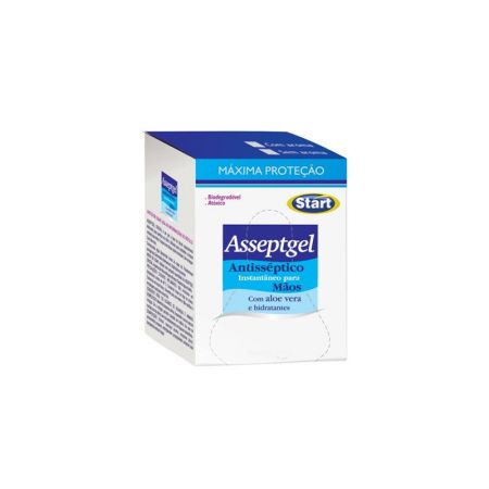 Álcool gel Asseptgel cristal refil bag 700g - Start Química