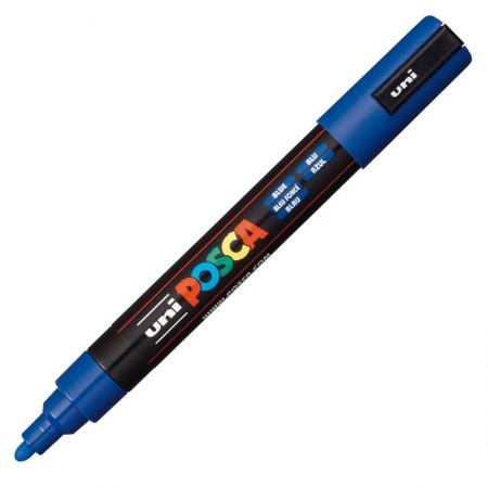 Caneta Posca PC-5M - azul - Uni-Ball