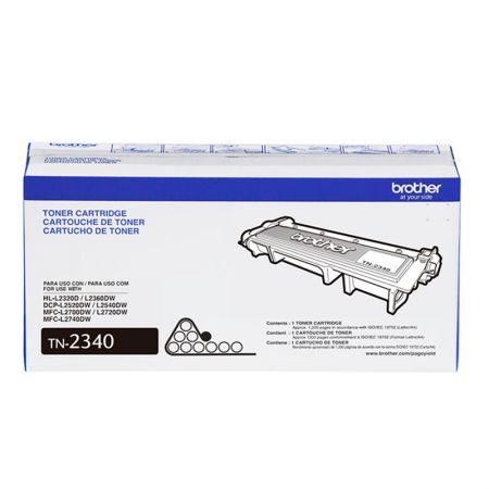 Toner Brother TN2340 - preto 1200 páginas