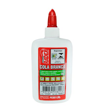 Cola branca escolar 40g - Radex