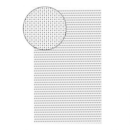 Placa de EVA 40X60cm - estampada bolinha branco - Seller