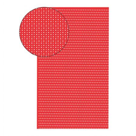 Placa de EVA 40X60cm - estampada bolinha vermelho - Seller