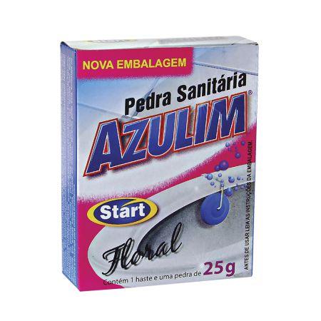 Pedra sanitária Azulim floral 25g - Start Química
