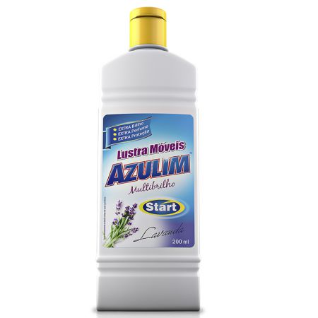 Lustra móveis Azulim 200ml - Start Química
