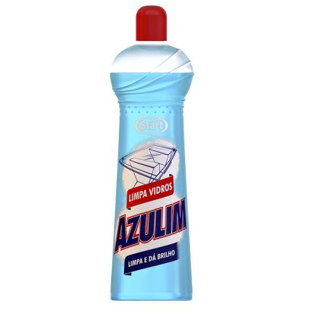 Limpa vidros Azulim 500ml - Start Química