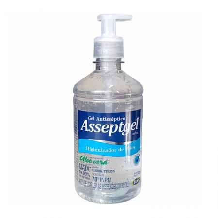 Álcool gel Asseptgel cristal 420g - Start Química