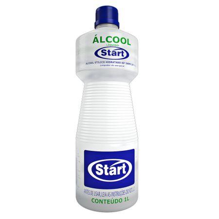 Álcool líquido Start 46% 1 litro - Start Química