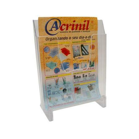 Expositor 1 divisória cristal 7000 -  Acrinil