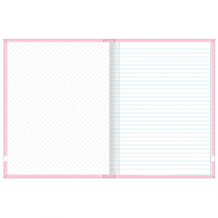 Caderno brochura capa dura 1/4 - 80 folhas - Academie feminino - Preto - Tilibra