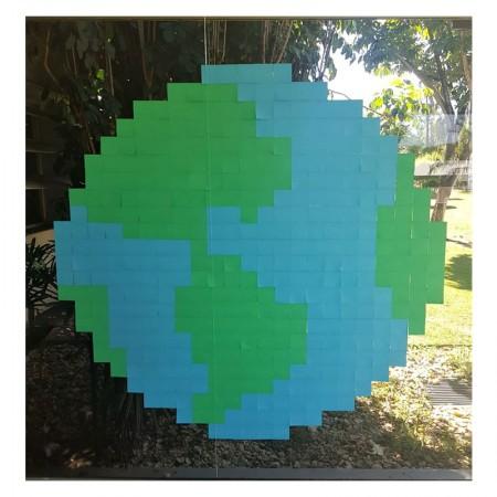 Post-it Art Globo - 8 Blocos - Faça você mesmo - 3M