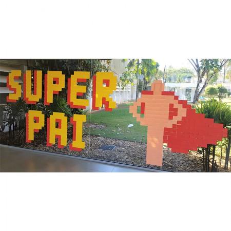 Post-it Art Super Pai - 12 Blocos - Faça você mesmo - 3M