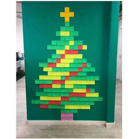 Post-it Art Árvore de Natal - 6 Blocos - Faça você mesmo - 3M