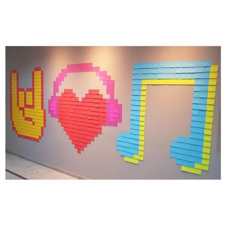 Post-it Art Música - 15 Blocos - Faça você mesmo - 3M