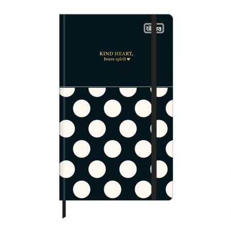 Caderneta capa dura 1/8 Fitto West Village - Sem Pauta - 80 folhas - Xadrez - Tilibra