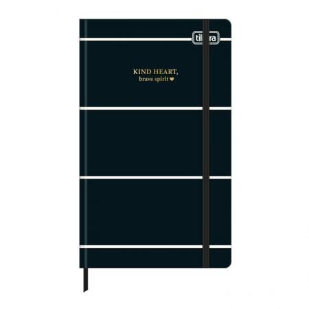 Caderneta capa dura 1/8 Fitto West Village - Sem Pauta - 80 folhas - Bolinha - Tilibra