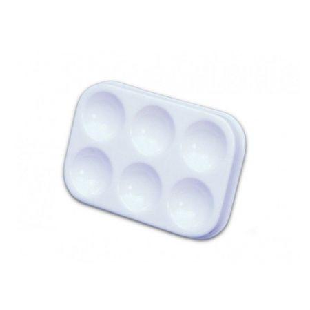 Godet de plástico com 6 cavidades 12463 - Trident