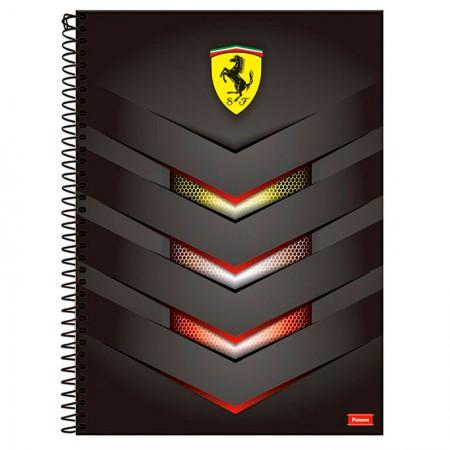 Caderno espiral capa dura universitário 10x1 - 200 folhas - Scuderia Ferrari - Capa 4 - Foroni
