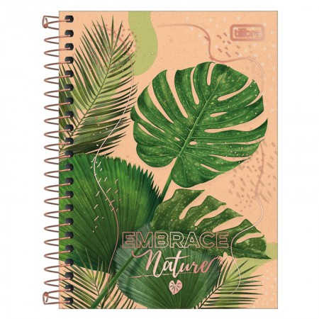 Caderneta espiral capa dura 1/8 - 80 Folhas - Naturalis - Capa 4 - Tilibra