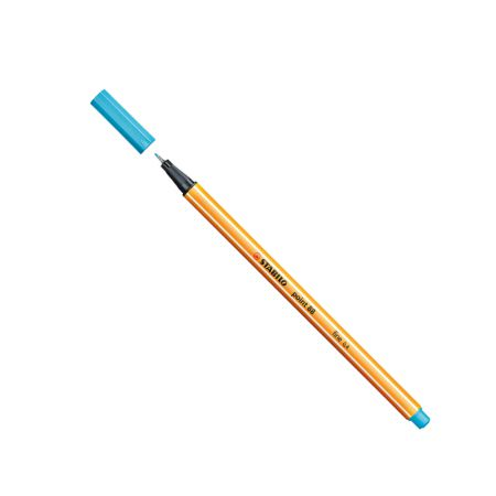 Caneta hidrográfica Fine Point 88/57 - Azul claro - Stabilo