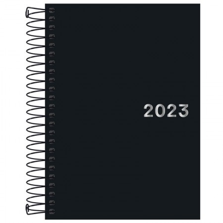 Agenda executiva espiral diária Napoli 2022 - Tilibra