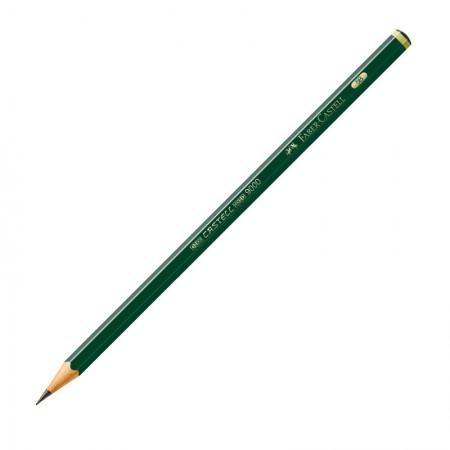 Lápis preto 5B - 9000 - unidade - Faber-Castell
