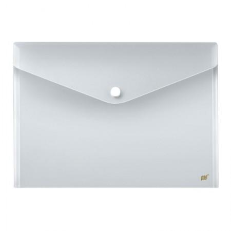 Envelope plástico com botão A3 - Cristal - DB80A3/CR - Yes