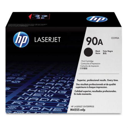 Toner HP Original (90A) CE390A - preto 10000 páginas