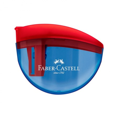 Apontador com coletor aquarius azul - com 1 unidade - SM/AQUARIUS - Faber-Castell