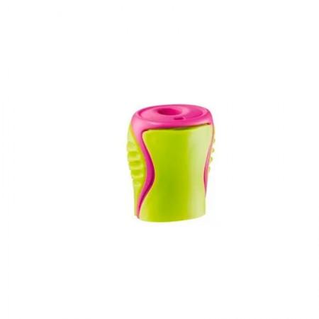 Apontador com coletor Boogy 1 furo - 63310 - Verde - Maped