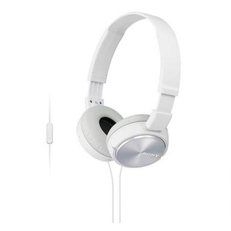 Fone de ouvido com microfone MDR-ZX310AP branco - Sony