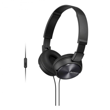 Fone de ouvido com microfone MDR-ZX310AP preto - Sony