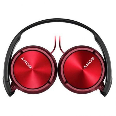 Fone de ouvido com microfone MDR-ZX310AP vermelho - Sony