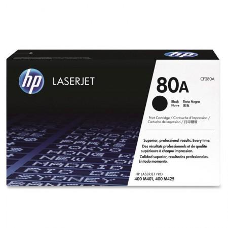Toner HP Original (80A) CF280AB - preto 2700 páginas