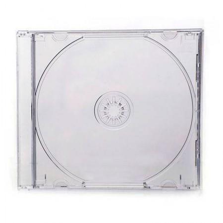 Porta CD tray cristal - para 1 unidade