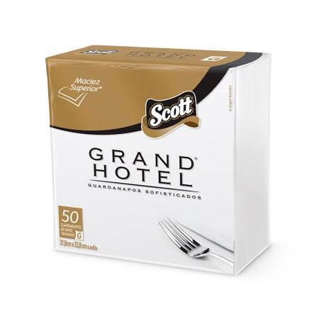 Guardanapo folha dupla Grand Hotel 31,8X32,8cm - com 50 folhas - Scott