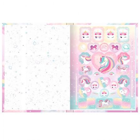Caderno brochura capa dura 1/4 - 80 Folhas - Blink - Capa 1 - Tilibra