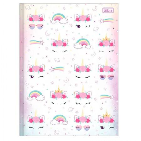 Caderno brochura capa dura  1/4 - 80 Folhas - Blink - Capa 2 - Tilibra