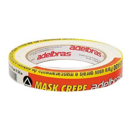 Fita crepe 18mm x 50m - Mask 710 - Adelbras
